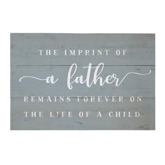 Imprint Of A Father PER - Rustic Pallet