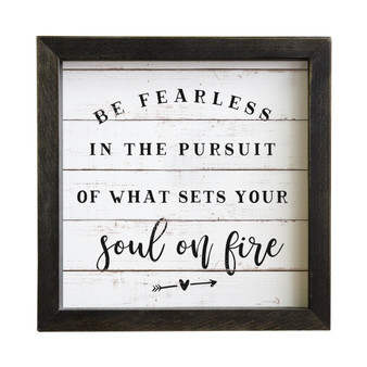 Be Fearless - Rustic Frames