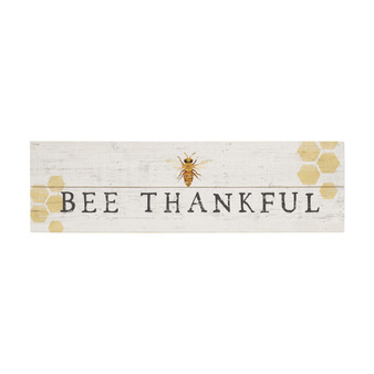 Bee Thankful - Vintage Pallet Board