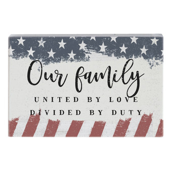 Our Family - Small Talk Rectangle