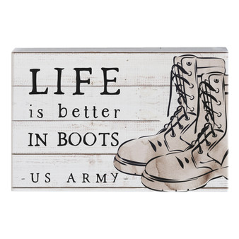 Better In Boots PER - Small Talk Rectangle