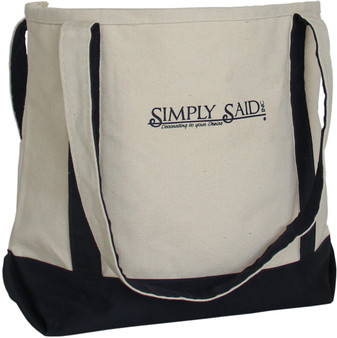 Simply Said Canvas Bag