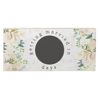 Getting Married - Chalk Talk