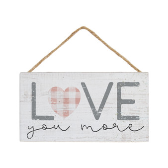 Love You More - Petite Hanging Accent
