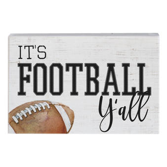 Football Yall - Small Talk Rectangle