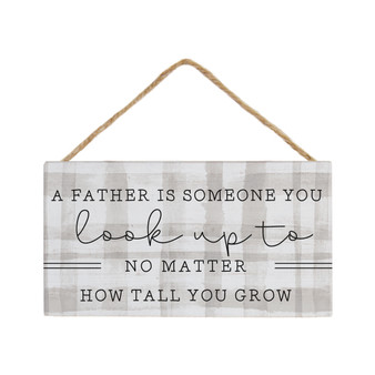 Father Look Up To - Petite Hanging Accent