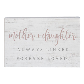 Mother + Daughter PER - Small Talk Rectangle