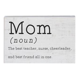 Mom Noun PER - Small Talk Rectangle