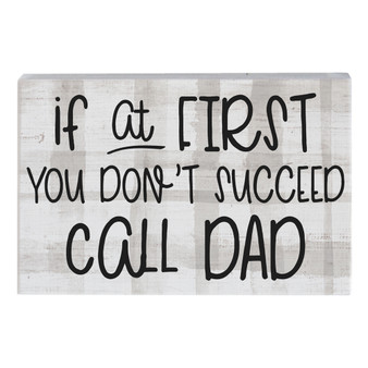 Call Dad - Small Talk Rectangle