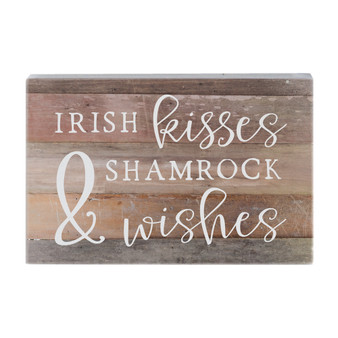Irish Kisses - Small Talk Rectangle