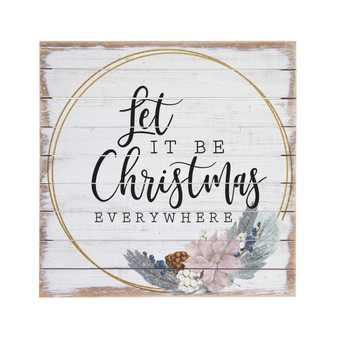 Let It Be Christmas - Perfect Pallet