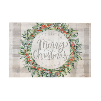 Wishing Merry Christmas - Rustic Pallet
