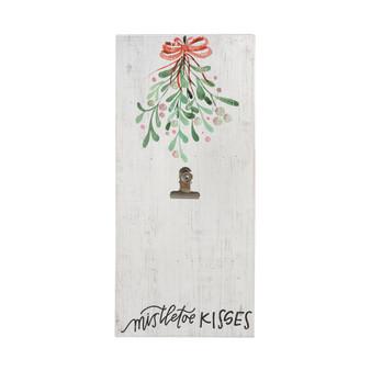 Mistletoe Kisses - Picture Clip