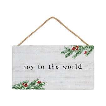 Joy To The World - Petite Hanging Accent
