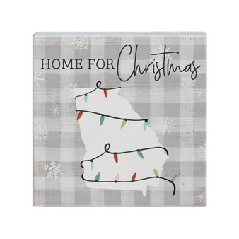 Home Christmas Lights STATE - Small Talk Square