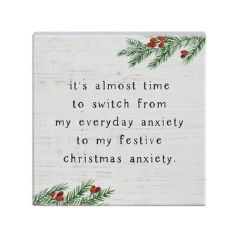 Christmas Anxiety - Small Talk Square
