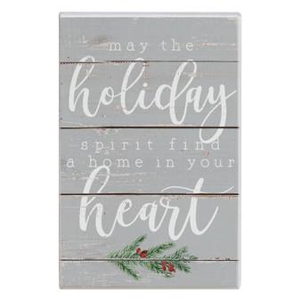 Holiday Spirit - Small Talk Rectangle