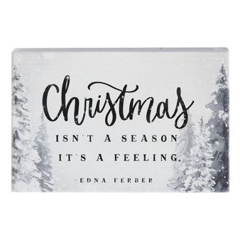 Christmas Feeling - Small Talk Rectangle