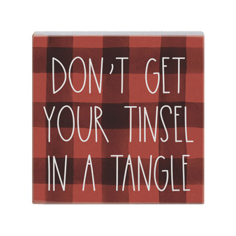 Tinsel Tangle - Small Talk Square