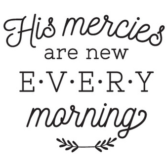 His Mercies - Wall Design