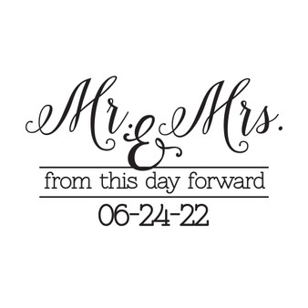 From This Day Forward - Large Designs