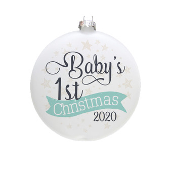 Baby's First Christmas PER - Ornament