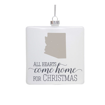 All Hearts STATE - Ornament