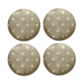 Gray Dots - Deco Magnets