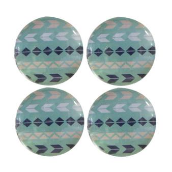 Green Stripe - Deco Magnets