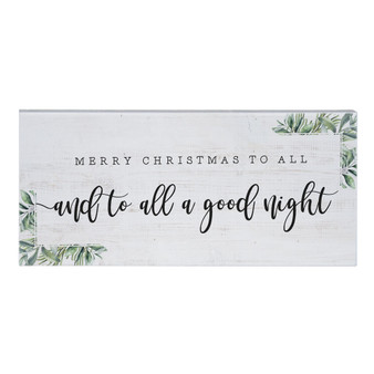 To All A Good Night - Inspire Boards