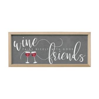 Wine Friends - Farmhouse Frame