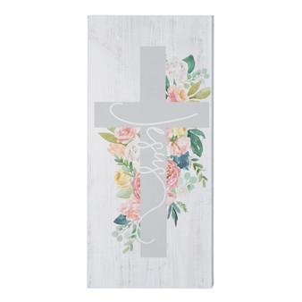 Jesus Floral Cross - Inspire Boards