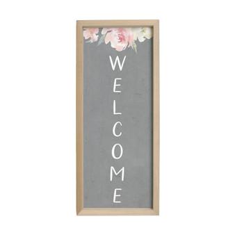 Welcome Floral - Farmhouse Frame