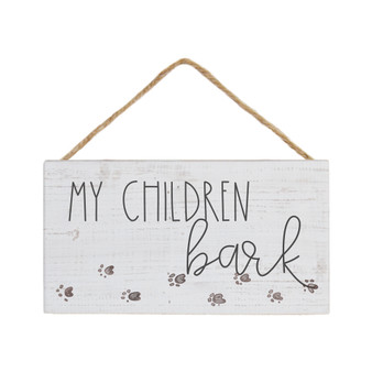 My Children Bark - Petite Hanging Accents