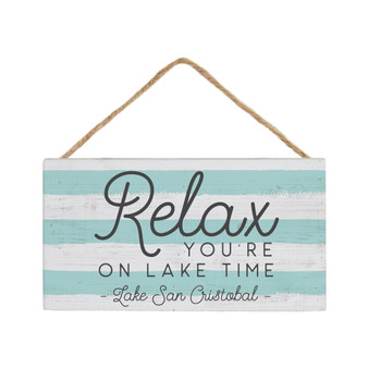 Relax Lake PER - Petite Hanging Accents