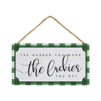 Harder You Work - Petite Hanging Accents