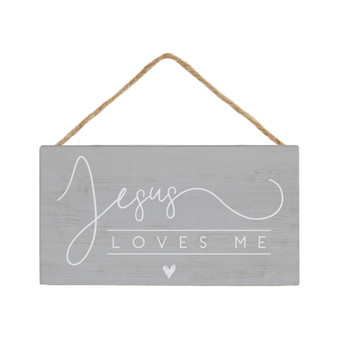 Jesus Loves Me  - Petite Hanging Accents