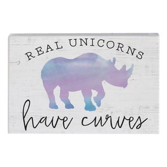 Unicorns Curves - Small Talk Rectangle