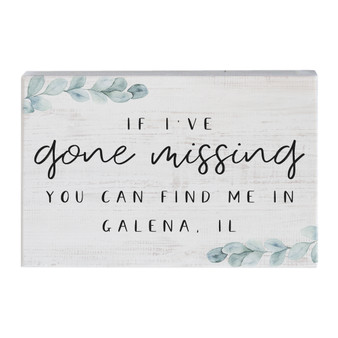 Gone Missing PER - Small Talk Rectangle
