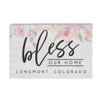 Bless Home Floral PER - Small Talk Rectangle