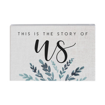 Story Of Us - Small Talk Rectangle