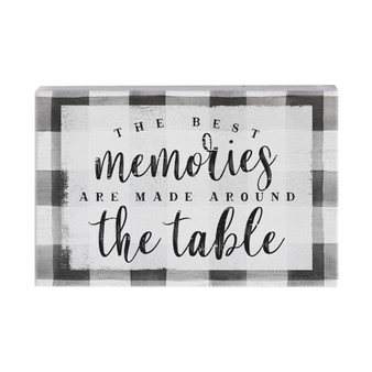 Memories Table - Small Talk Rectangle