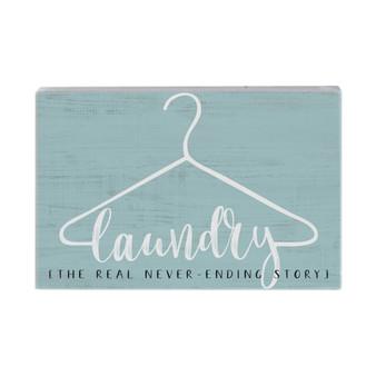 Laundry Story  - Small Talk Rectangle
