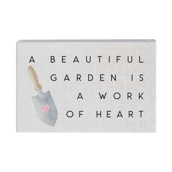 Beautiful Garden - Small Talk Rectangle