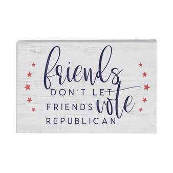 Friends Don't Let Friends PER - Small Talk Rectangle
