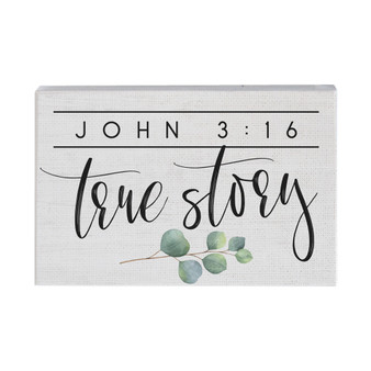 John 3:16 - Small Talk Rectangle