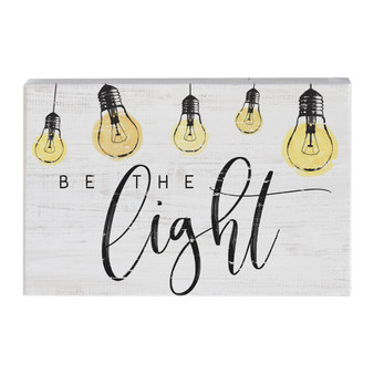 Be The Light - Small Talk Rectangle