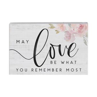 Love Remember - Small Talk Rectangle