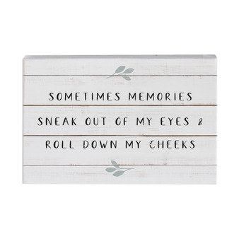 Sometimes Memories - Small Talk Rectangle