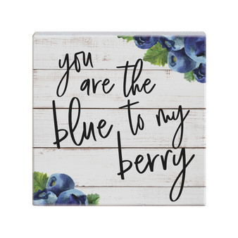 Blue To My Berry  - Small Talk Square